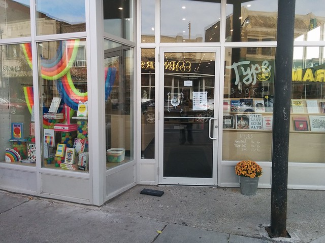 Type in the Junction (1) #toronto #thejunction #dundasstreetwest #typebooks #typebooksjunction #bookstore #latergram