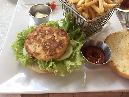 Chicken Tzatziki Burger - Margot Restaurant- Sosua