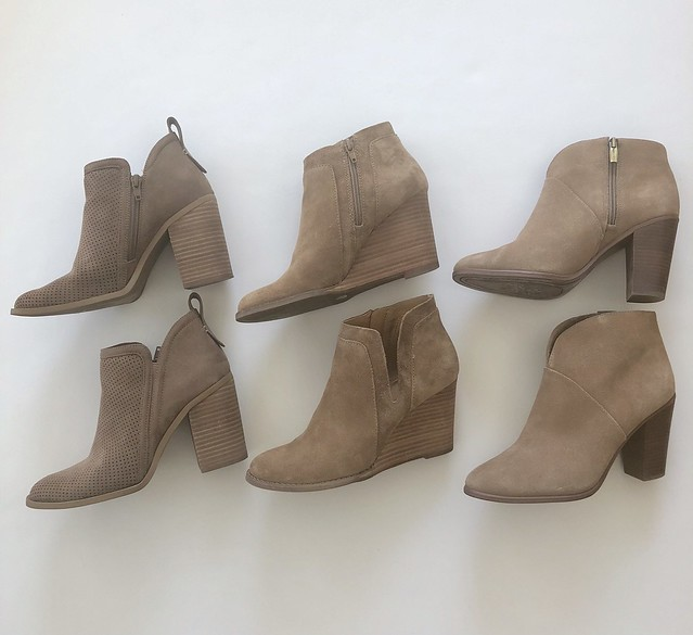 Neutral Fall Booties
