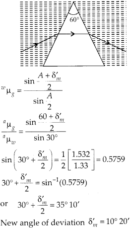 NCERT Solutions for Class 12 Physics Chapter 9 Ray Optics and Optical Instruments 13