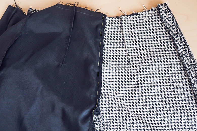 diy chanel skirt with pockets-25