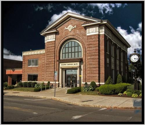 Fulton New York - Fulton Saving Bank - Historic Buildings