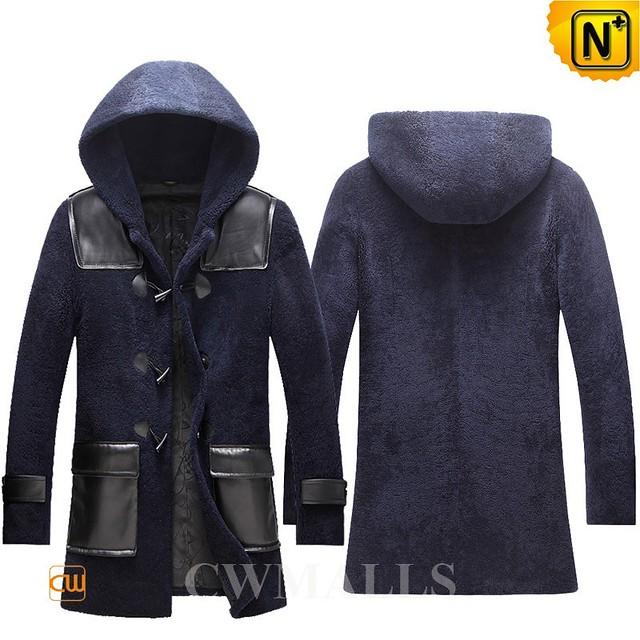 Christmas Gifts   CWMALLS® Newark Custom Shearling Duffle Coat CW855570 [Free Shipping]