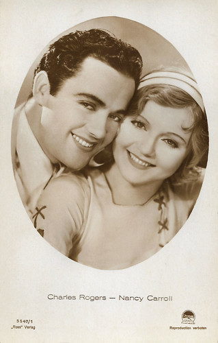 Charles Rogers and Nancy Carroll in Follow Thru (1930)