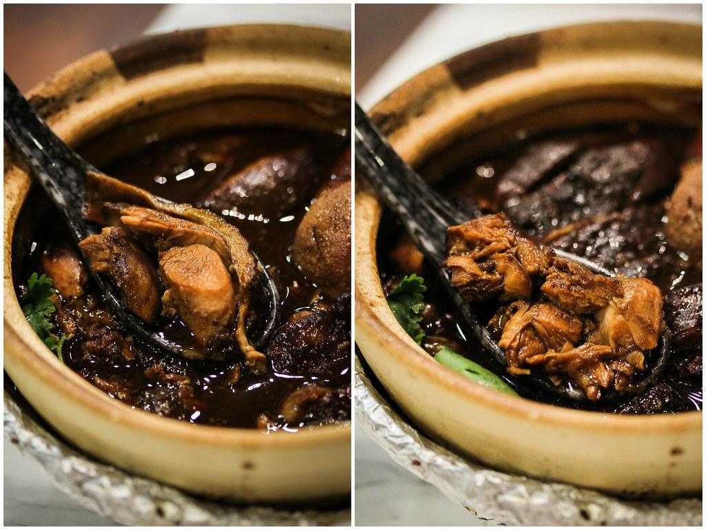 Lu Ding Ji chicken collage
