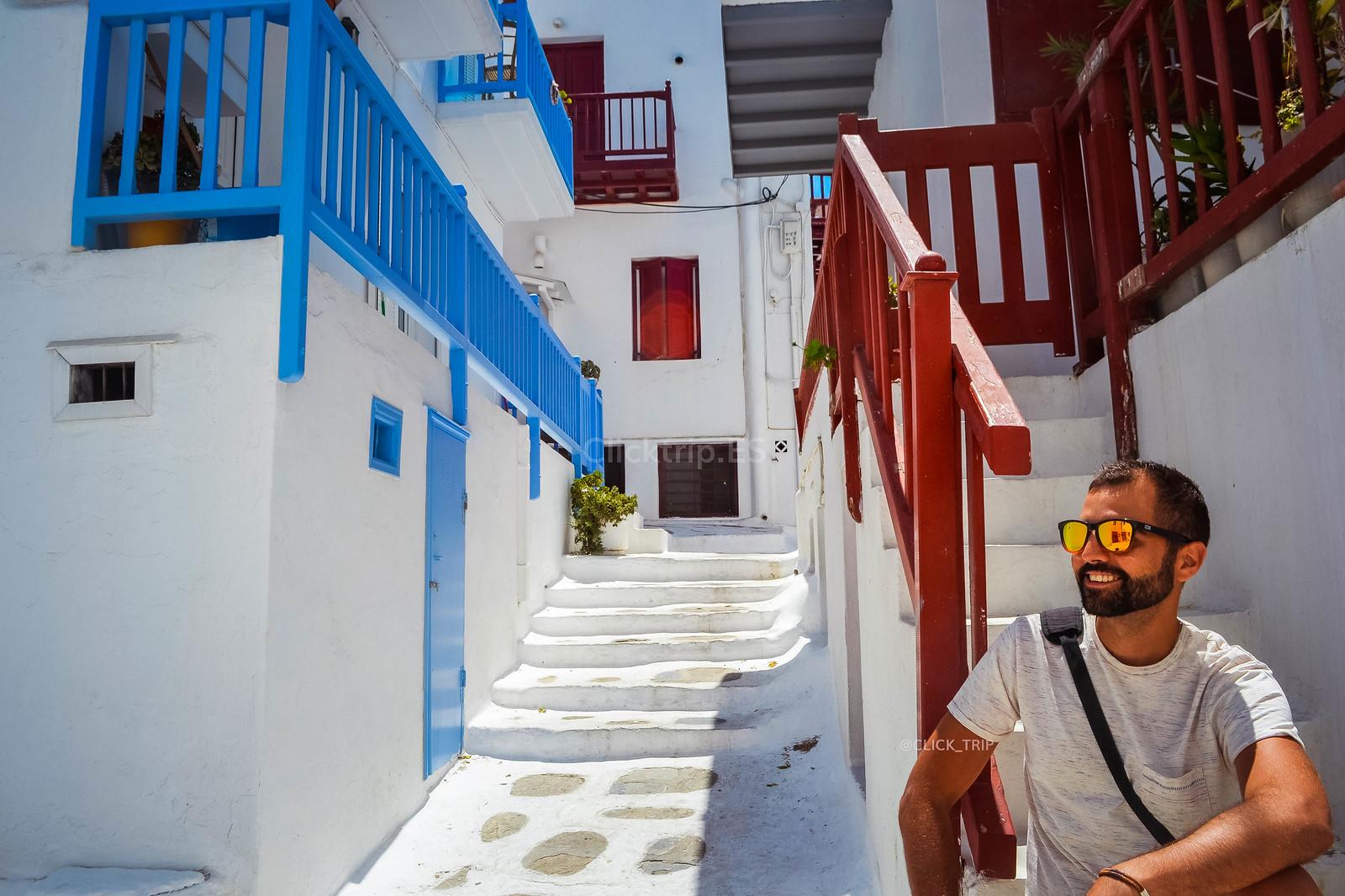 · Qué ver en Mykonos · Calles de Chora, Mykonos ·