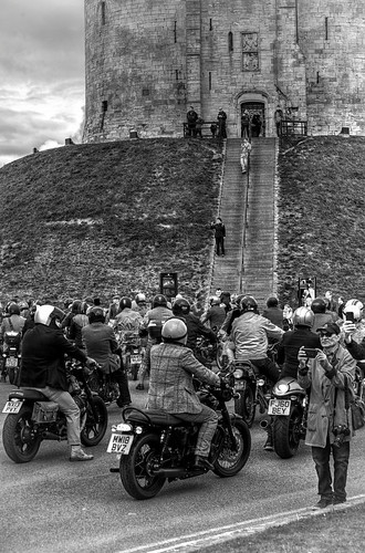 Distinguished Gentlemans Bike Ride at Cliffords Tower York!
