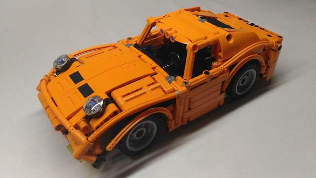 LEGO® MOC by Braker23: Lamborghini Miura 1969