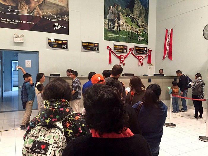 J26 : 13 octobre 2018 : Trajet de Quito à Lima