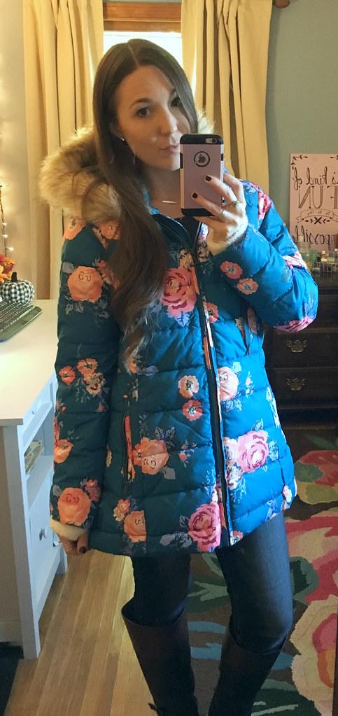 Matilda Jane Women's Floral Coat