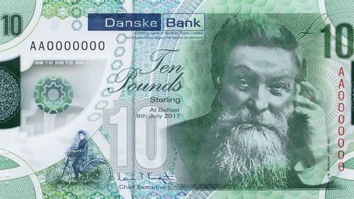 Danske Bank Ten Pound note