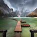 Lago di Braies (Tyrol) by Mathulak