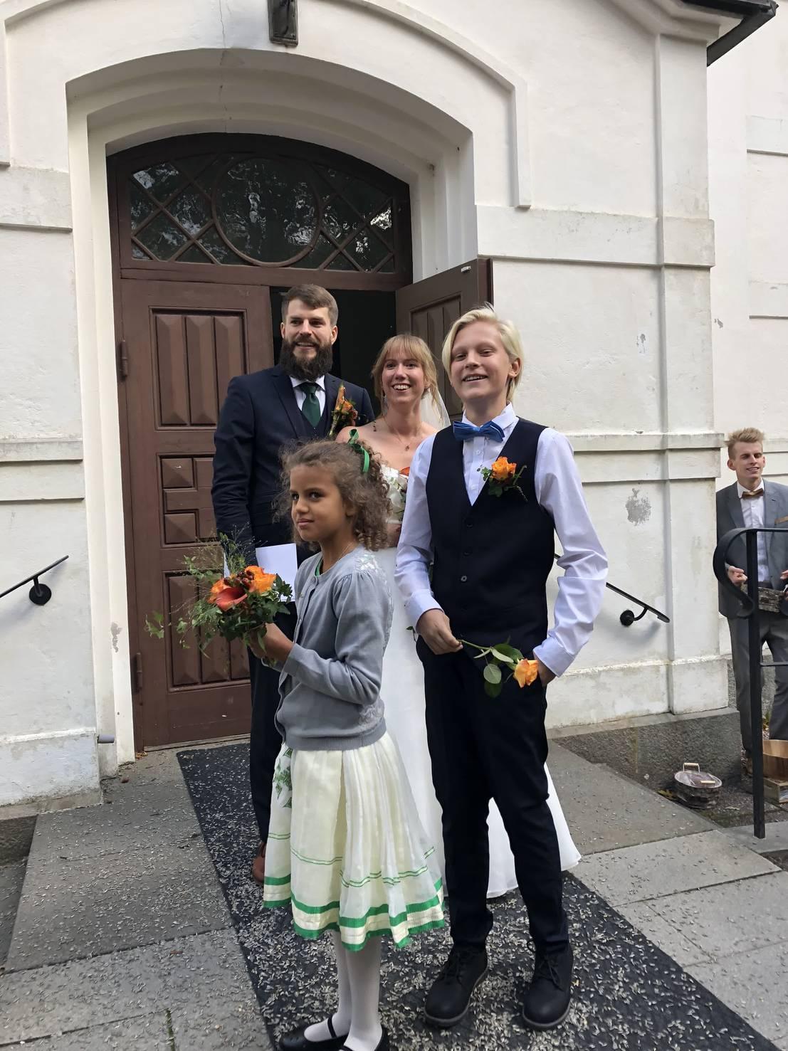 Dom har gift sig!