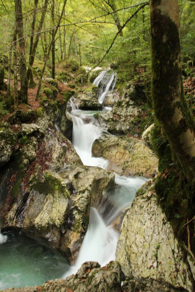 Sloveniëreis: watervallen en kloven