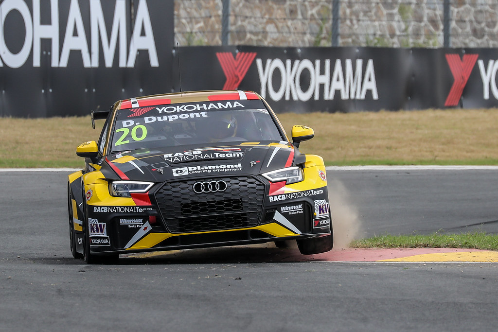 20 DUPONT Denis, (bel), Audi RS3 LMS TCR team Comtoyou Racing, action during the 2018 FIA WTCR World Touring Car cup of China, at Ningbo  from September 28 to 30 - Photo Marc de Mattia / DPPI