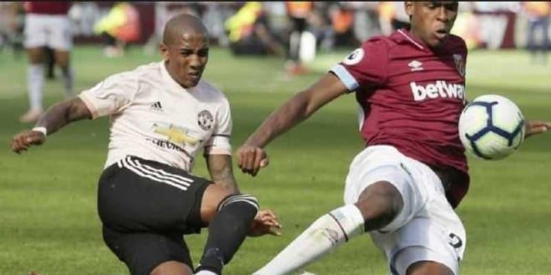 Manchester United Dipermalukan Westham 1-3