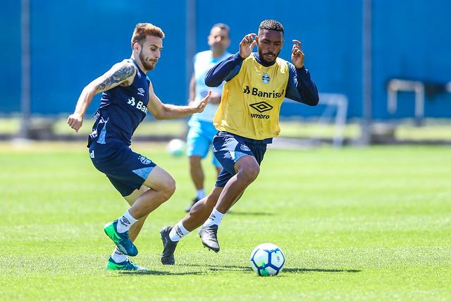 Treino Grêmio 05/10/2018