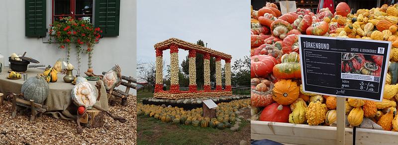 Exposición, templo, mercado