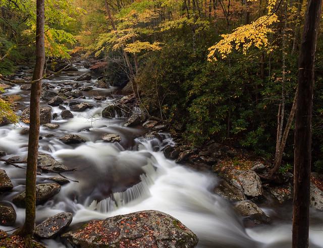 Autumnal Cascade, Canon EOS 5D MARK II, Canon EF 28-80mm f/2.8-4L