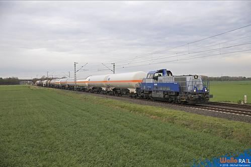 255 499 VTG Rail . Büttgen . 01.11.18.