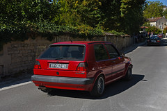 Golf Mk2 GTD - Photo of Saint-Simon