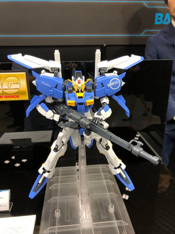 【全日本模型 HOBBY SHOW】BANDAI SPIRITS《機動戰士鋼彈》系列多款鋼普拉新作展出!