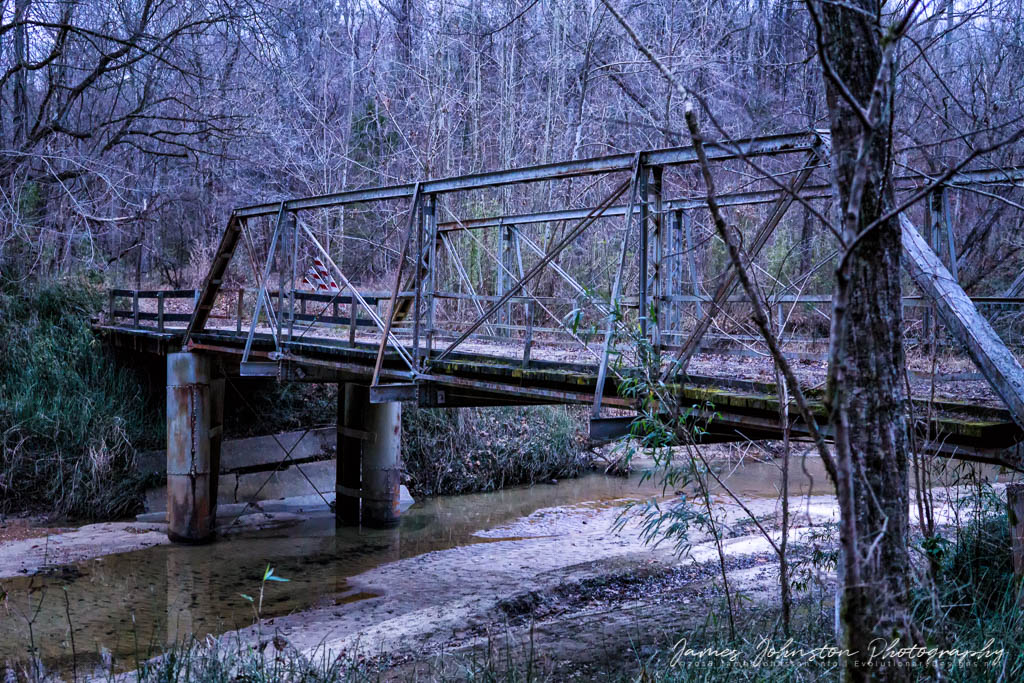 Widow's Creek Bridge in Claiborne County, Mississippi