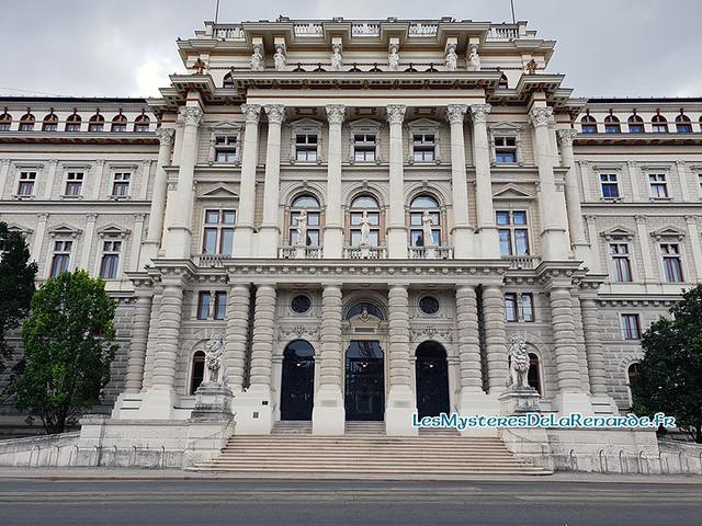 Palais justice Vienne