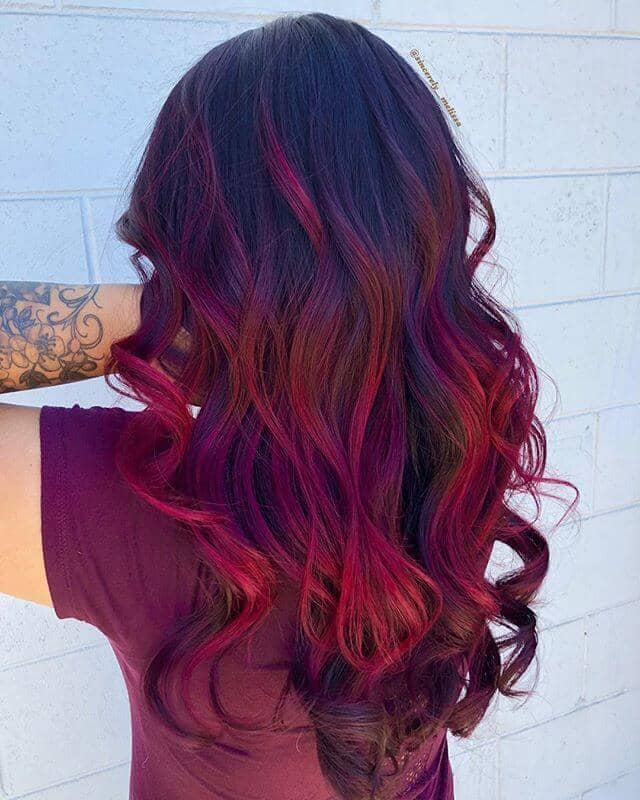 best burgundy hair dye to Rock this Fall 2019 8