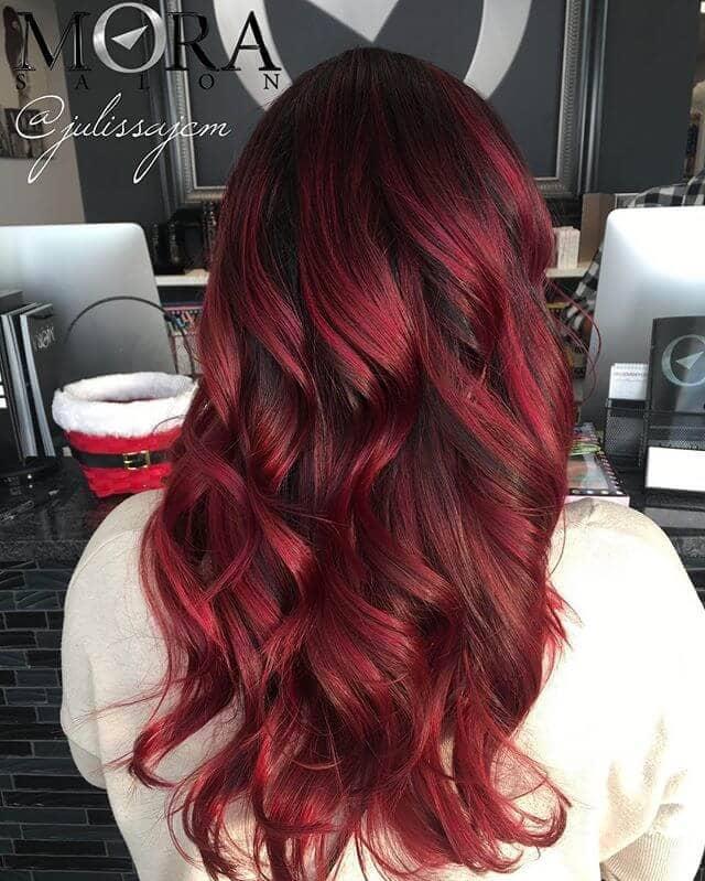 best burgundy hair dye to Rock this Fall 2019 12