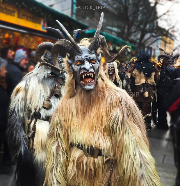 · Desfile de Krampus en Múnich ·