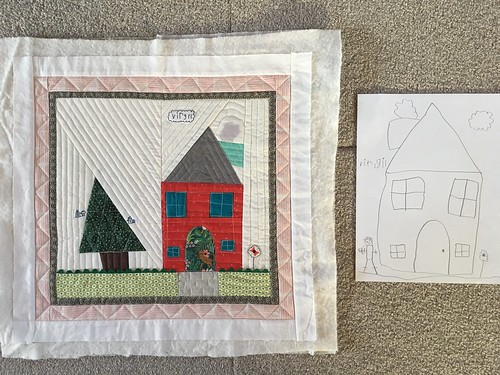 Auction Project: Kindergarten House Quilt