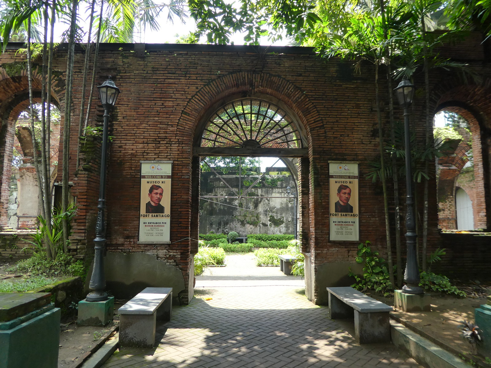 Rizal Shrine, Fort Santiago, Manila