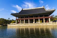 Gyeonghoeru in Gyeongbokgung Palace, Seoul
