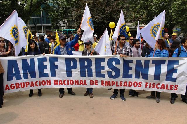 ANEF en protesta No+AFP (24-10-2018)