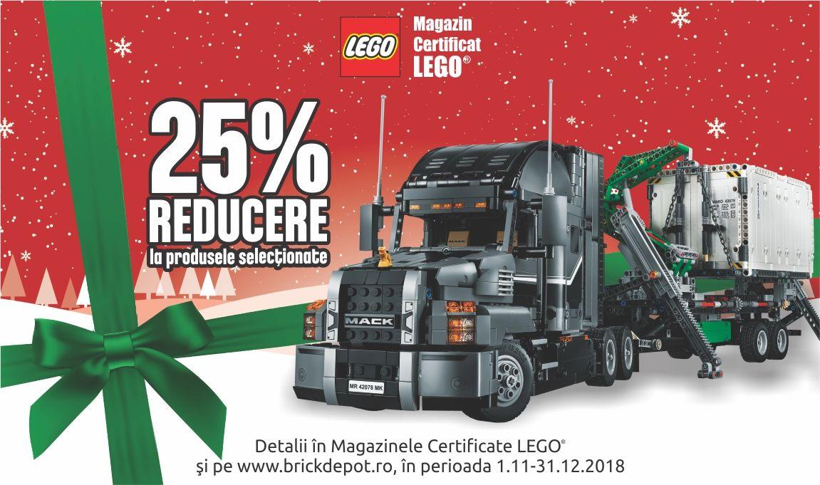 Pregatiri pentru Craciun: 25% reducere la o selectie de seturi LEGO®