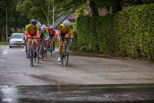Lap 3. First group in Holwierde.