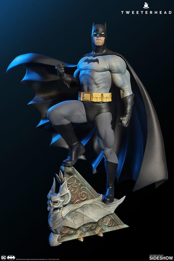 Tweeterhead Super Powers 系列 DC Comics【蝙蝠俠 黑灰配色版】Batman Variant 1/6 比例全身雕像作品