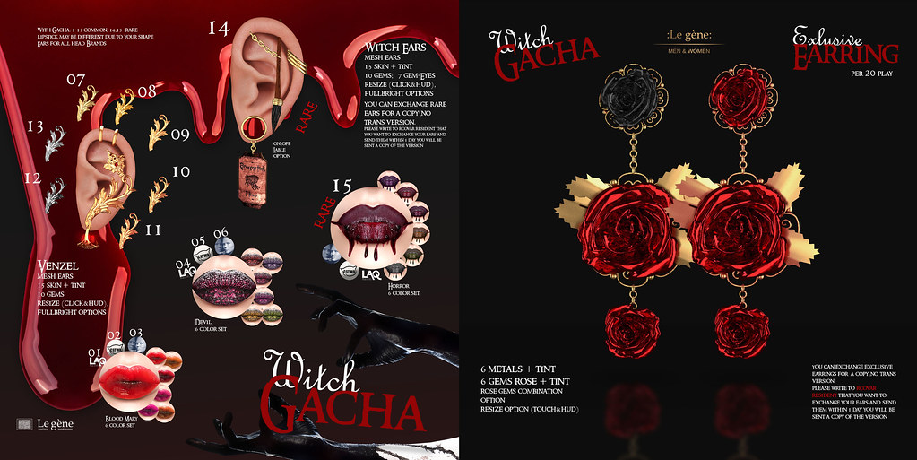 :Le gene: @ Witch Gacha for GachaLand Event - TeleportHub.com Live!