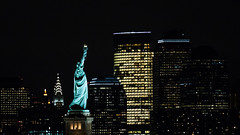 Miss Liberty & The Chrysler & The Empire State Buildings