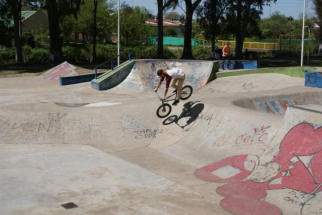 Skate y BMX en el Parque Hiriart