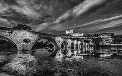 Pont Vieux de Béziers et Cathédrale Saint-Nazaire de Béziers