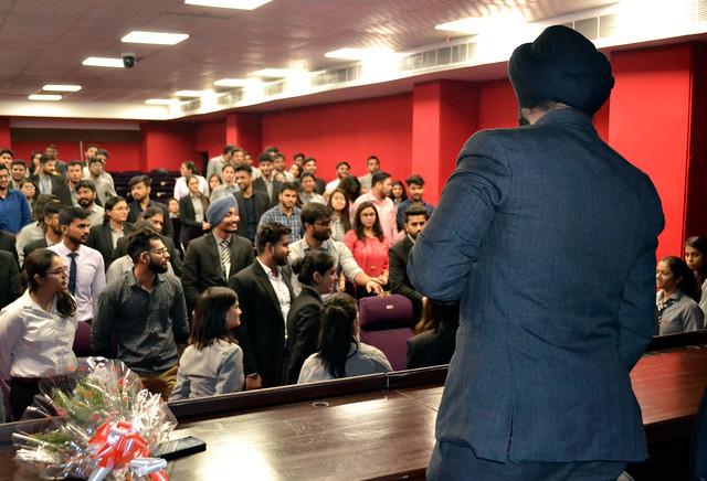 ABS Distinguished Lecture Series – By Mr. Ishvinder Singh