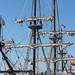 El Galeon dans le port de Nantes