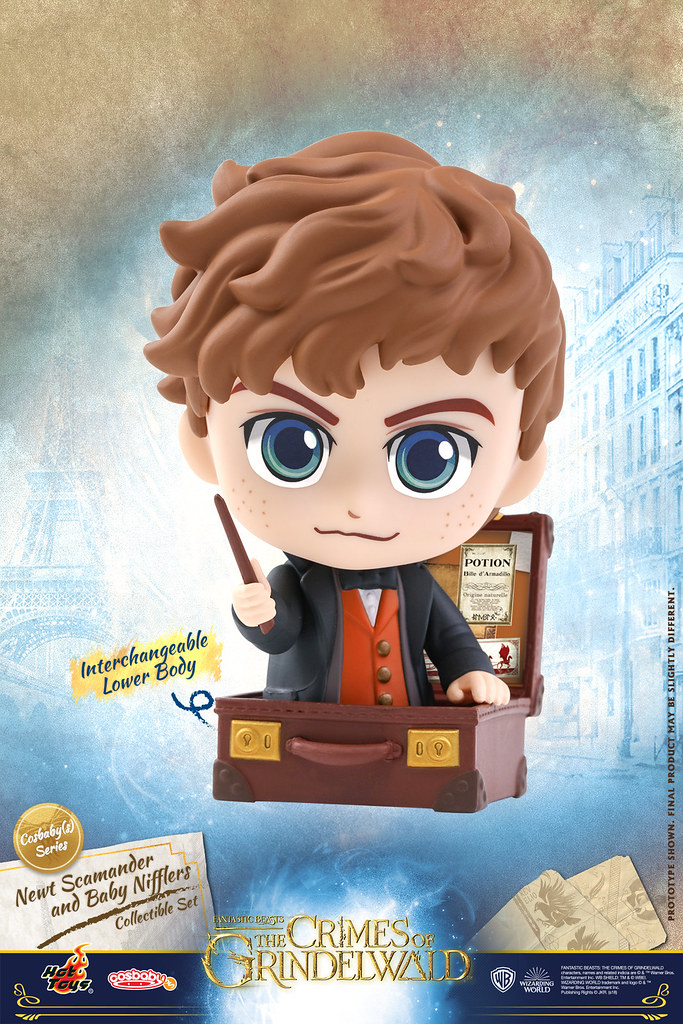 Hot Toys – COSB516 - 518, 537 –《怪獸與葛林戴華德的罪行》Fantastic Beasts: The Crimes of Grindelwald - Cosbaby (S) Series