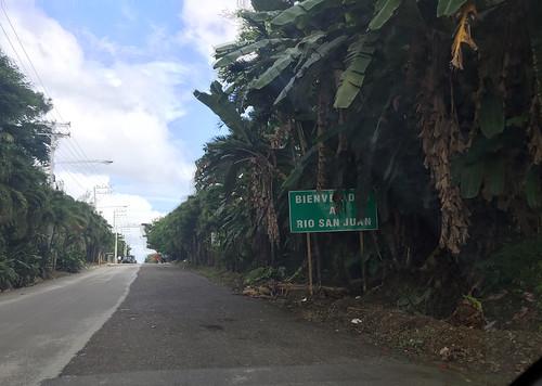 Entering Rio San Juan