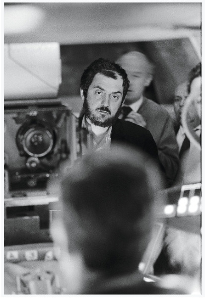 The Establishing Shot™ : Stanley Kubrick filming in the Centrifuge set, 2001 A Space Odyssey