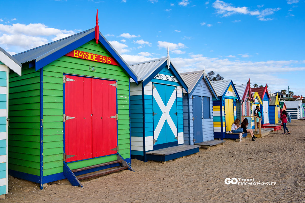 Brighton Beach Bathing Boxes melbourne