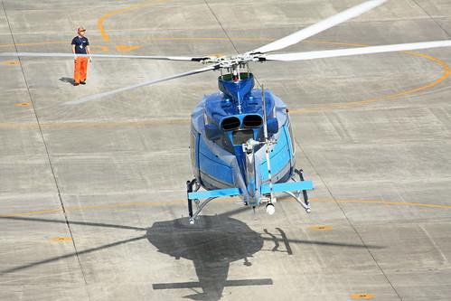 愛知県警察航空隊 Bell412EP JA21AP あけぼの IMG_7956_2