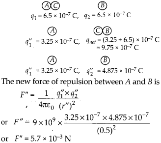 NCERT Solutions for Class 12 Physics Chapter 1 Electric Charges and Fields 10